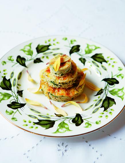 """Seite 40: """"Zucchini-Frittata"""" - Bilddaten vom Dumont-Verlag zur Verfügung gestellt"""