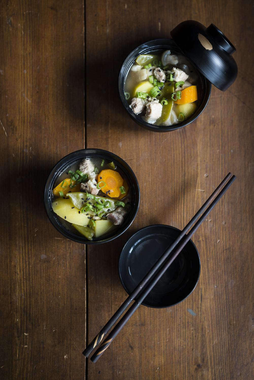 Tonjiru 豚汁 – Japanese pork soup