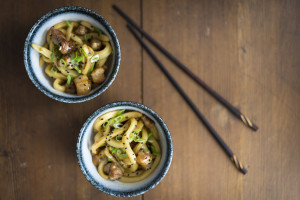 Udon with Pork Belly
