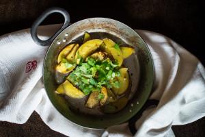Kartoffeln und Kreuzkuemmel