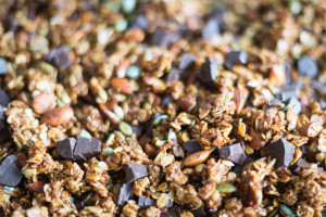 coconut chocolate granola